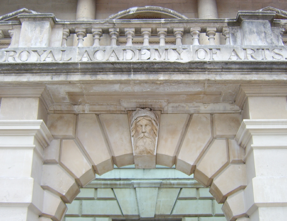 Royal academy of arts in London